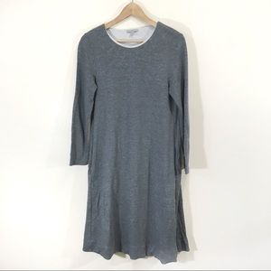 COS Grey Trapeze A-line Loose Dress Sz Small